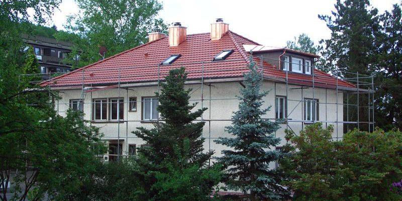 Sanierung des bestehenden Daches