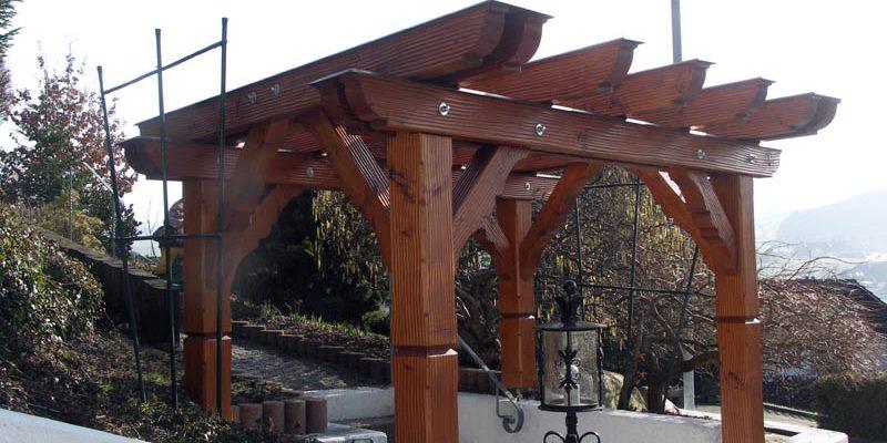 bei der ganzen Arbeit, wurde auf einen Konstruktiven Holzschutz geachtet.