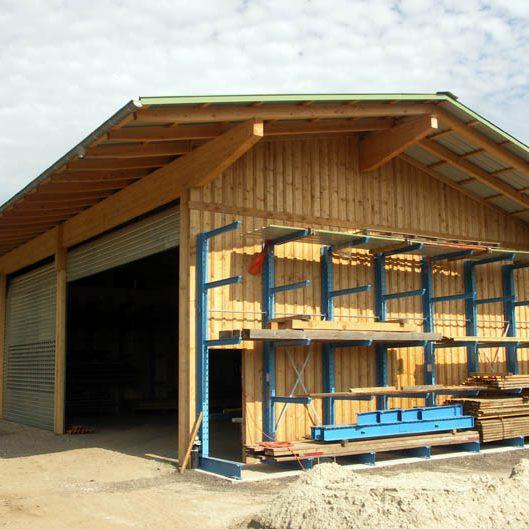 Geräte- und Lagerhalle