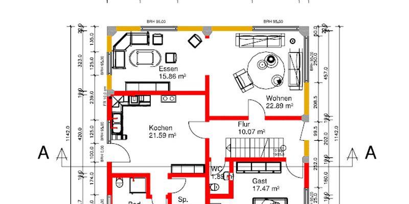 Planung und Bauleitung eines Bauernhauses in Biberach