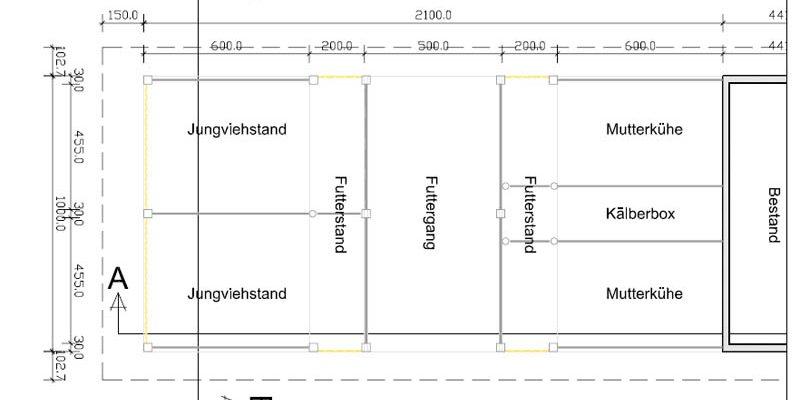 Planung und Bauleitung einer Siloüberdachung in Biberach Prinzbach